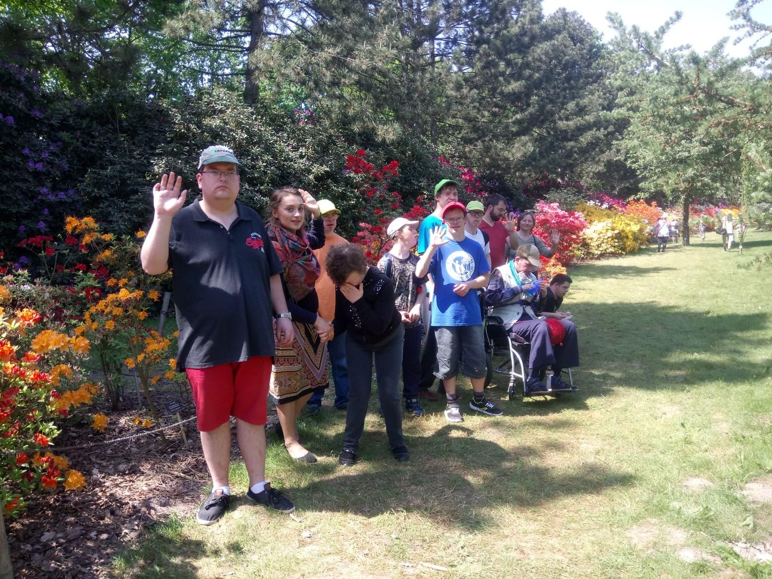 Z wizytą w Ogrodzie Botanicznym PAN w Powsinie